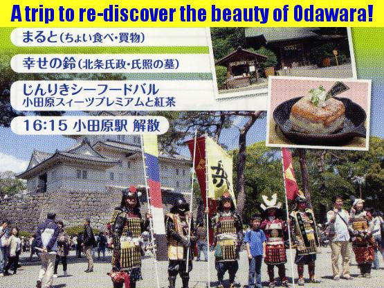 A trip to re-discover the beauty of Odawara! (sample tour)